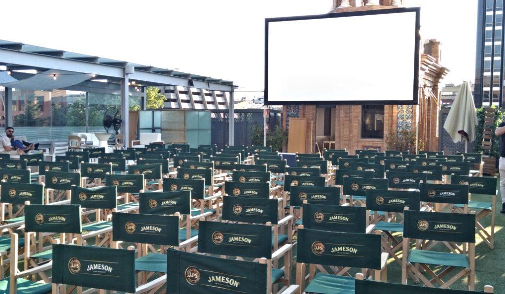 Descubre el cine de verano de Madrid que está en las alturas