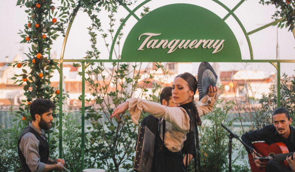 Tanqueray Flor de Sevilla trae el arte andaluz a Madrid