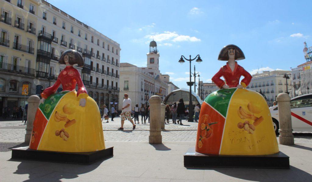 Las Meninas de las calles de Madrid, a subasta