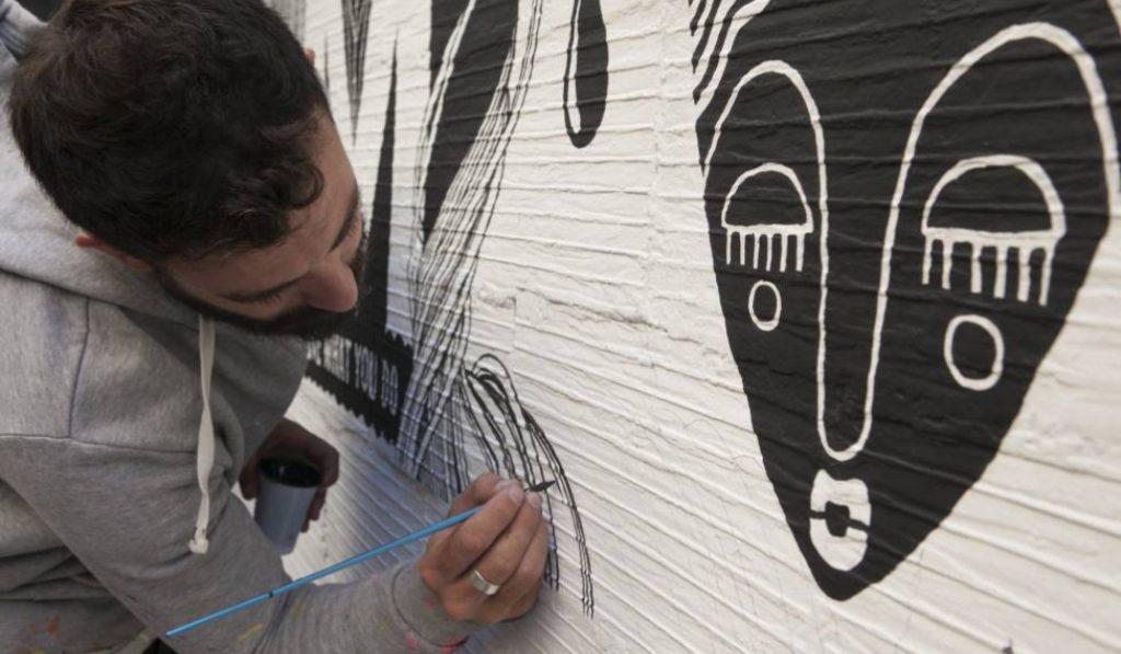 Artistas y vecinos pintarán los 21 distritos de Madrid