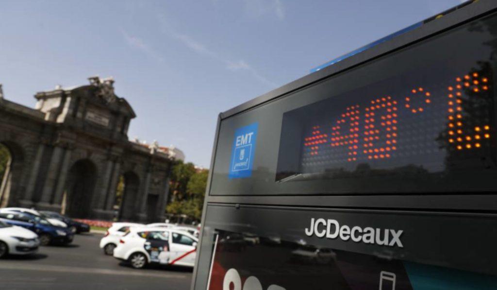 La ola de calor de Madrid tiene los días contados