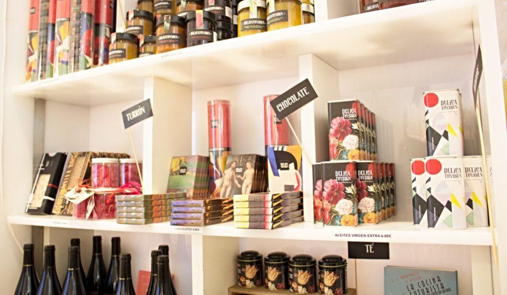 El Museo Thyssen tendrá una sección 'gourmet' en su tienda