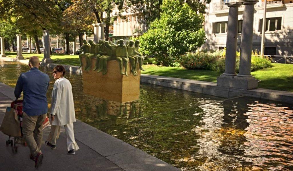Recoletos  tendrá una estatua dedicada a los refugiados