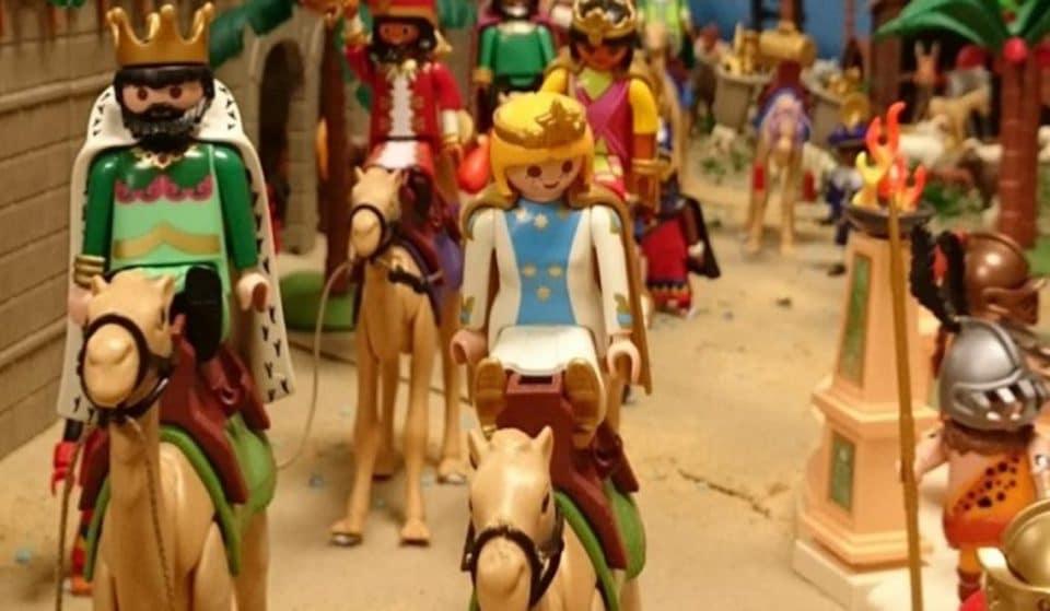 Tienes que ir a ver este Belén hecho con clicks de Playmobil