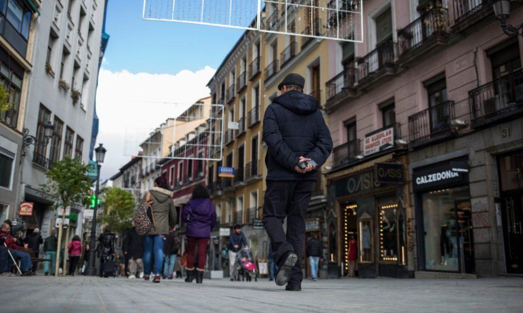 La calle Carretas ahora pertenece a los peatones