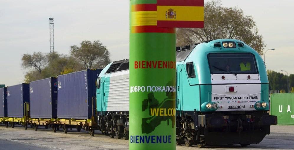 ¿Sabías que hay un tren que va de Madrid a China?