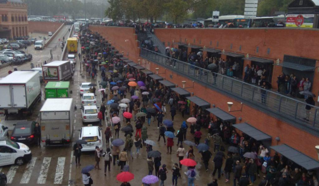 Desalojada Atocha por aviso de bomba