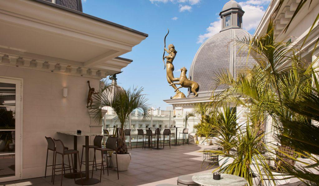 Algunos de los mejores hoteles de Madrid abren sus puertas a los madrileños