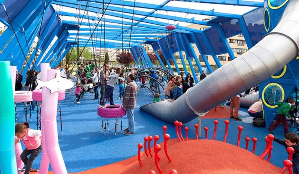Los parques infantiles más chulos de Madrid están en Alcobendas