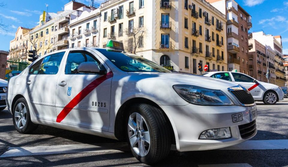 Los taxis con precio fijo circularán por Madrid a partir de 2020