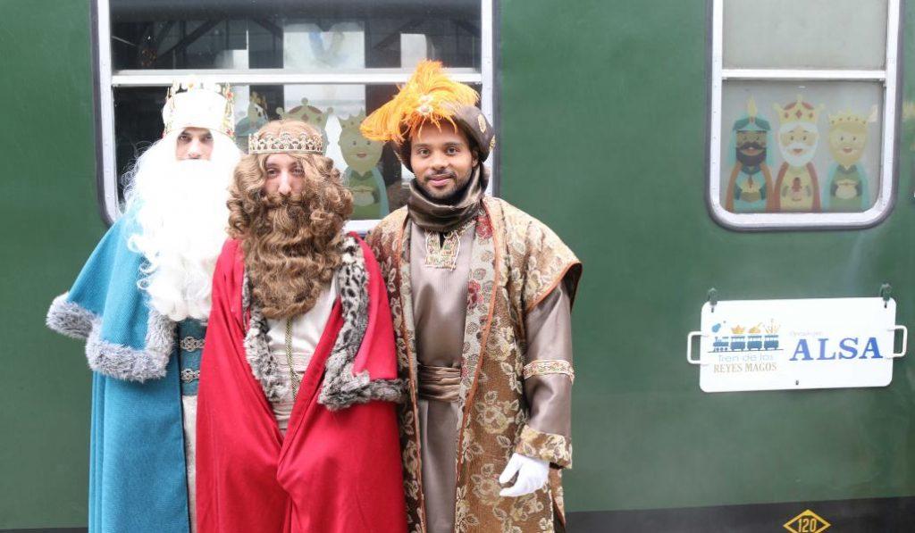 El Tren de los Reyes Magos: magia a bordo de una locomotora histórica