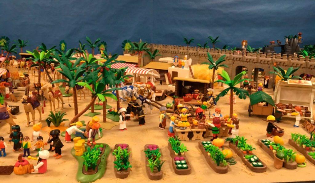 Los coleccionistas de Playmobil diseñan su propio Belén