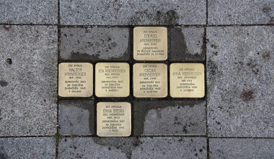 Adoquines para recordar a las víctimas madrileñas del horror nazi