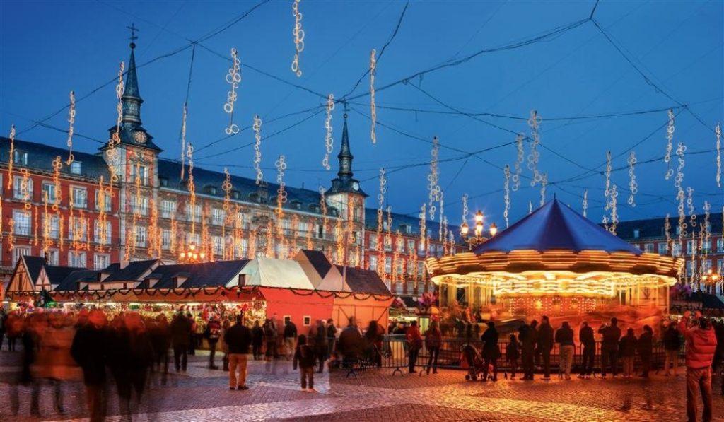 5 cosas que solo son navideñas en Madrid