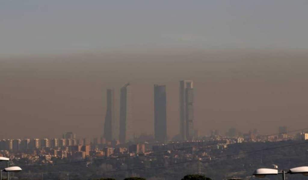 Un mapa de la contaminación en Madrid hecho por niños y ciclistas