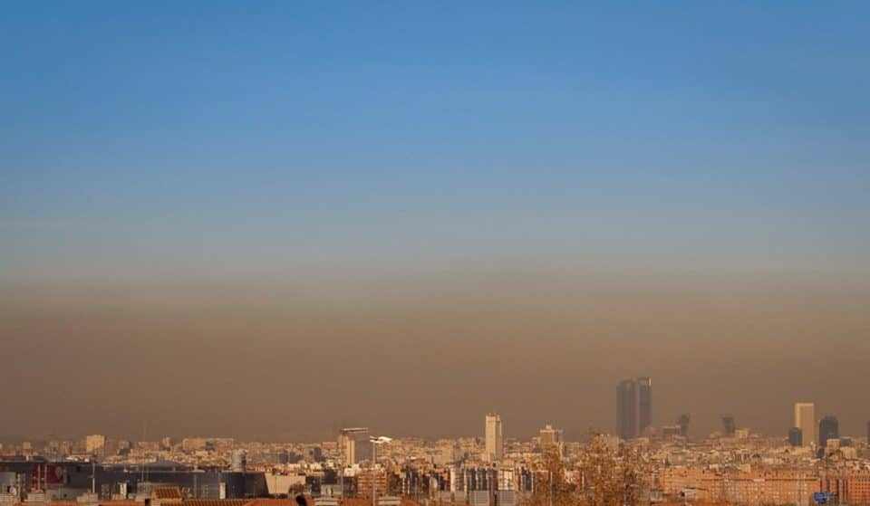 Madrid activa el protocolo anticontaminación por primera vez este invierno