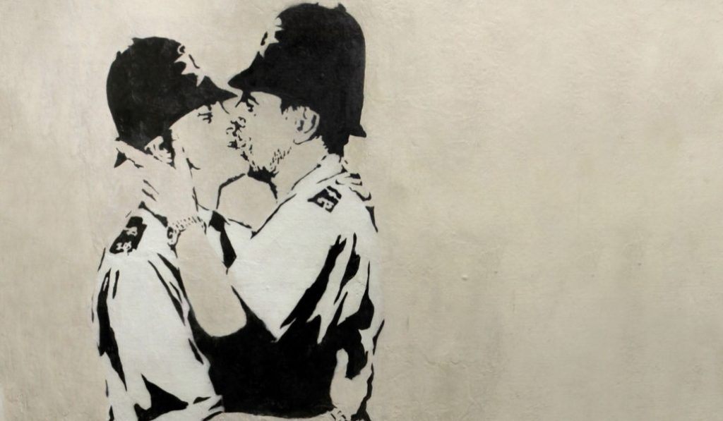 5 obras de la exposición de Banksy que odiarías perderte
