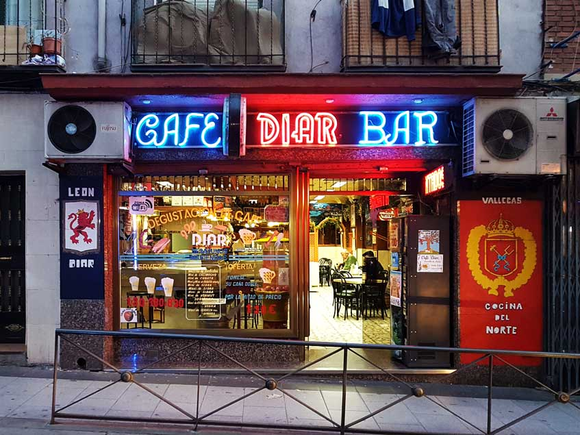 Una lista recoge los 100 bares más auténticos de Madrid