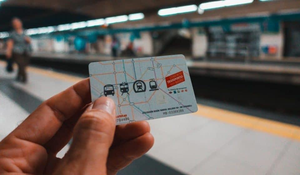 Las tarjetas de transporte de Madrid ya se pueden cargar con el móvil