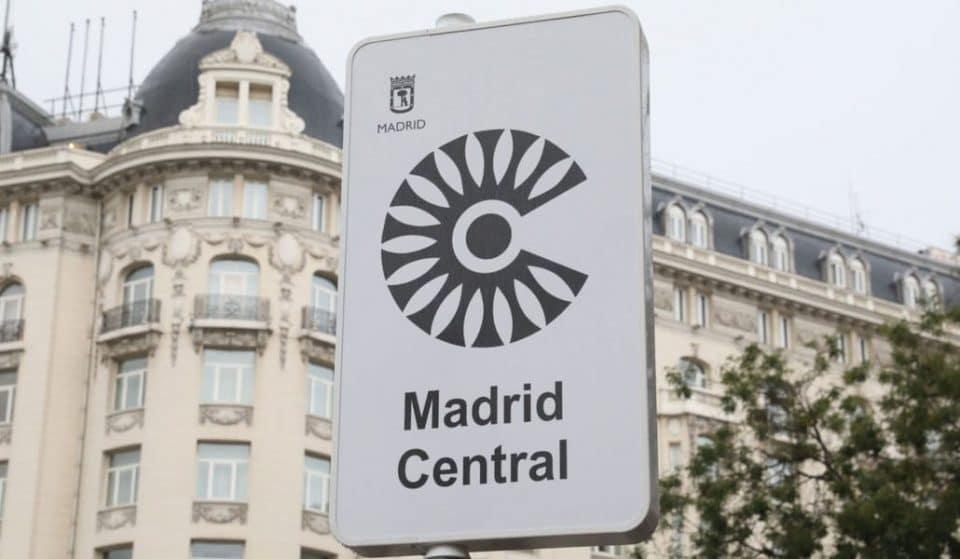 Las multas de Madrid Central empiezan mañana