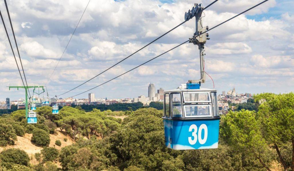 El teleférico de Madrid cierra hasta finales de marzo
