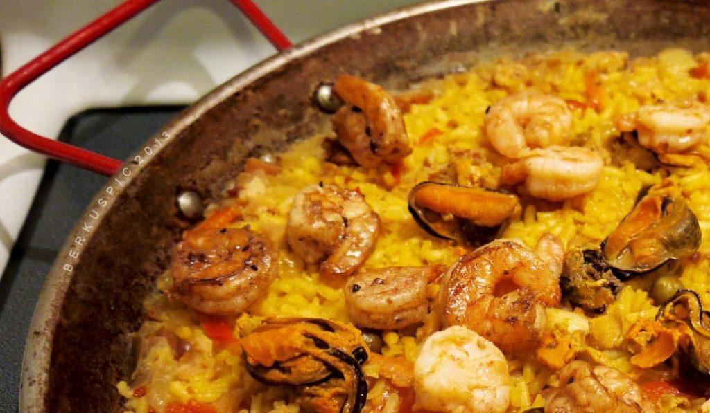 El mejor arroz de Madrid es una paella al estilo venezolano