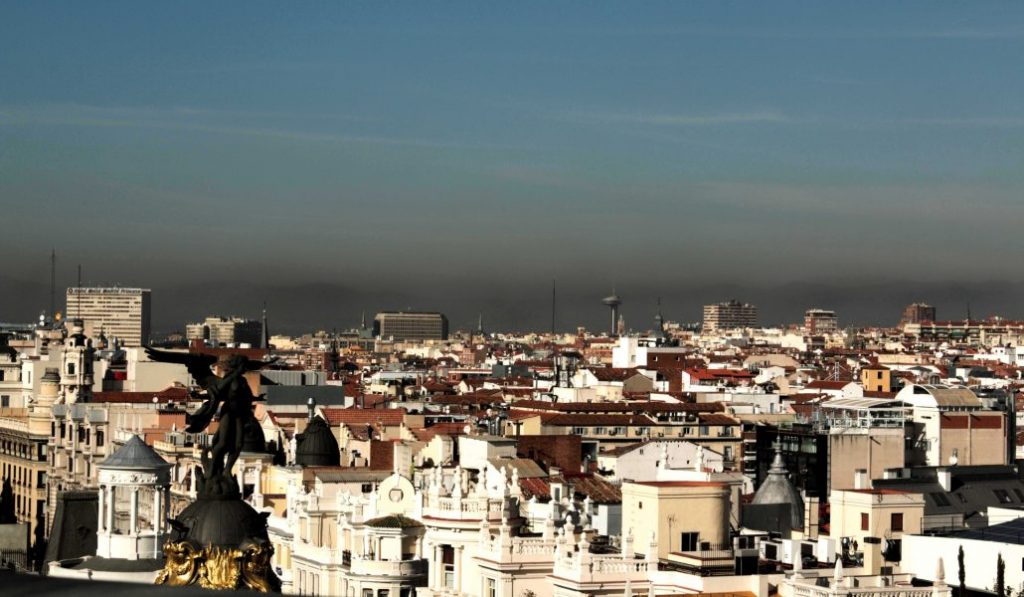 Madrid ha superado su límite de contaminación anual en solo 36 días
