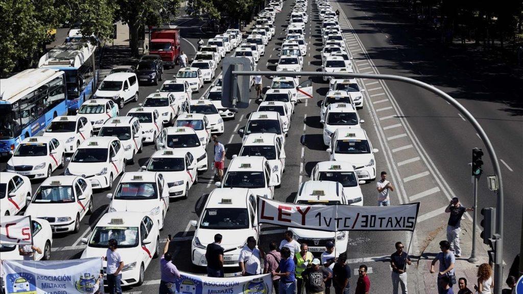 Los taxistas de Madrid ponen fin a la huelga sin lograr sus objetivos