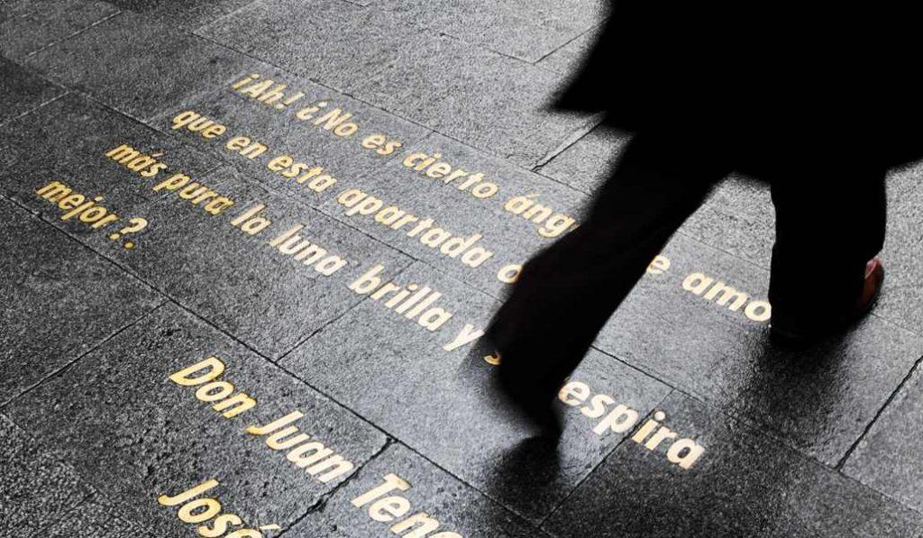 Las escritoras por fin firman las aceras del Barrio de las Letras