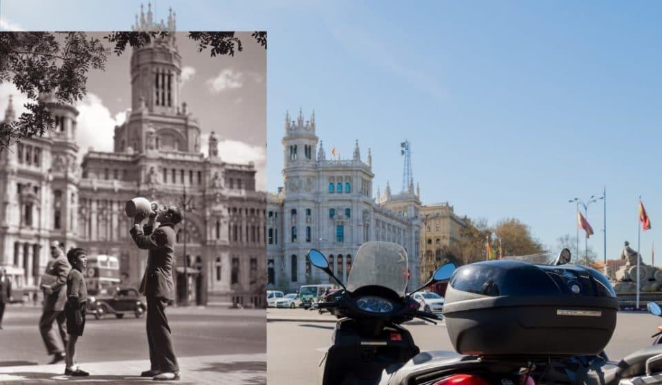 Un fotógrafo fusiona el Madrid de los 50′ y el de 2019 en unas fotos