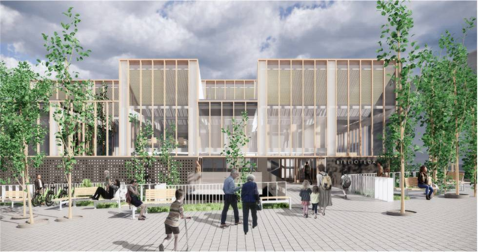 Las nuevas bibliotecas de Madrid serán mucho más que bibliotecas