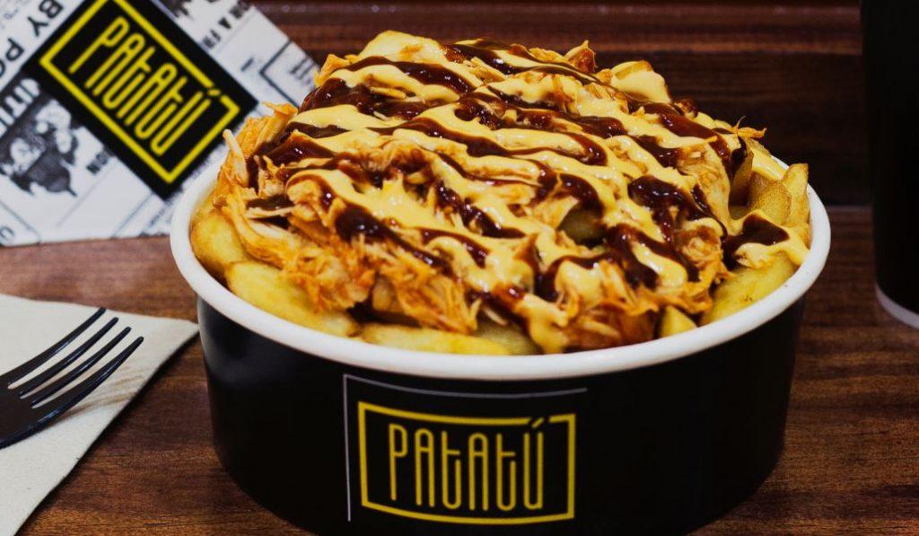 Patatú, un paraíso donde las patatas fritas gourmet son el plato principal