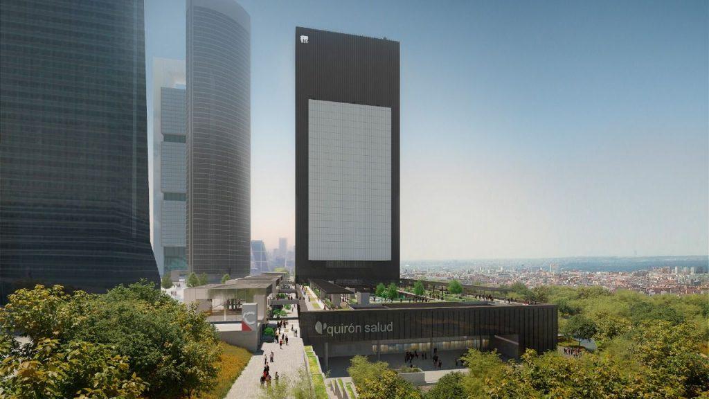 Comienza la construcción de la 'quinta torre' de Madrid