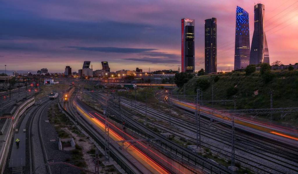 Un parque gigantesco se construirá sobre las vías de tren de Chamartín