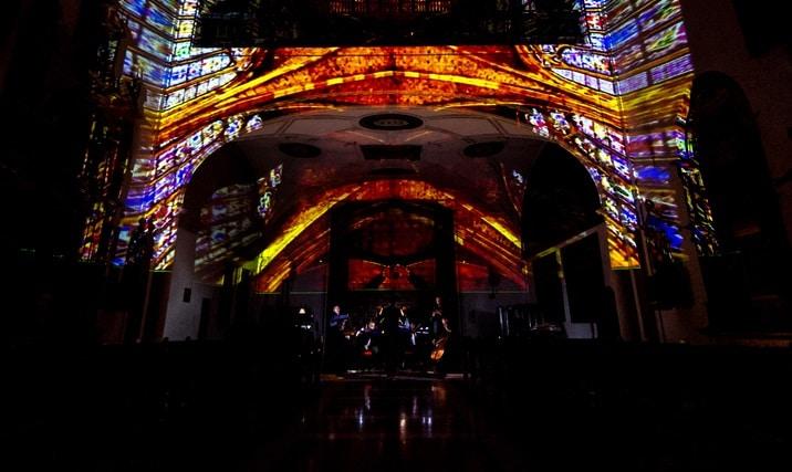 'La Noche de las Luces': un concierto en la capilla del cementario de la Almudena