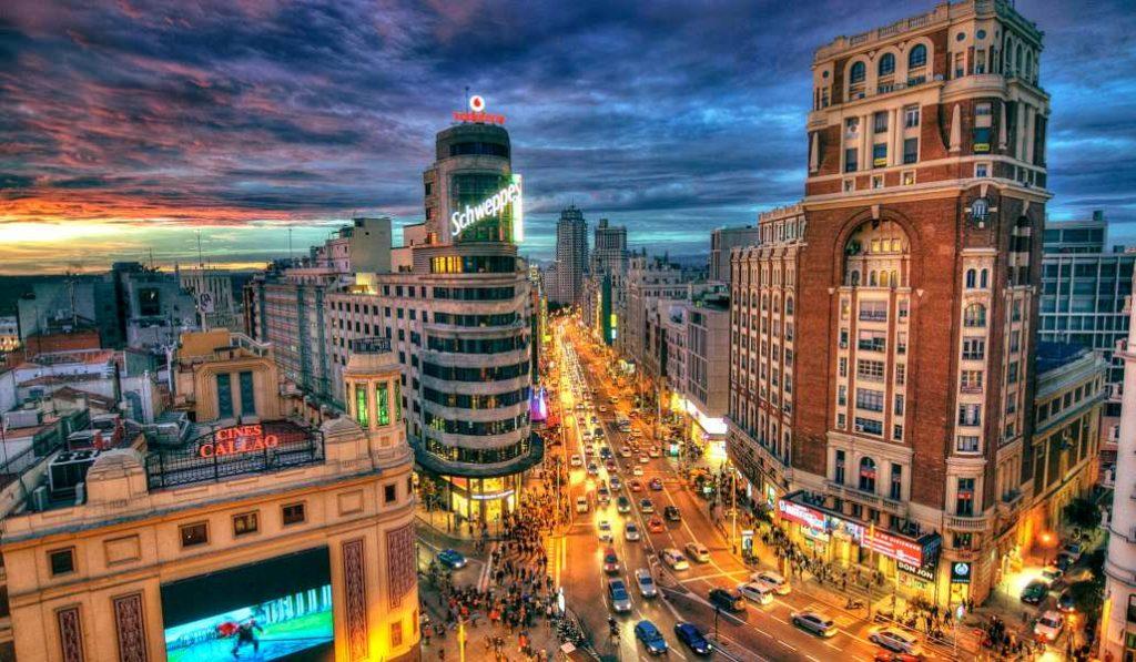 Este mapa interactivo le pone música a los barrios de Madrid