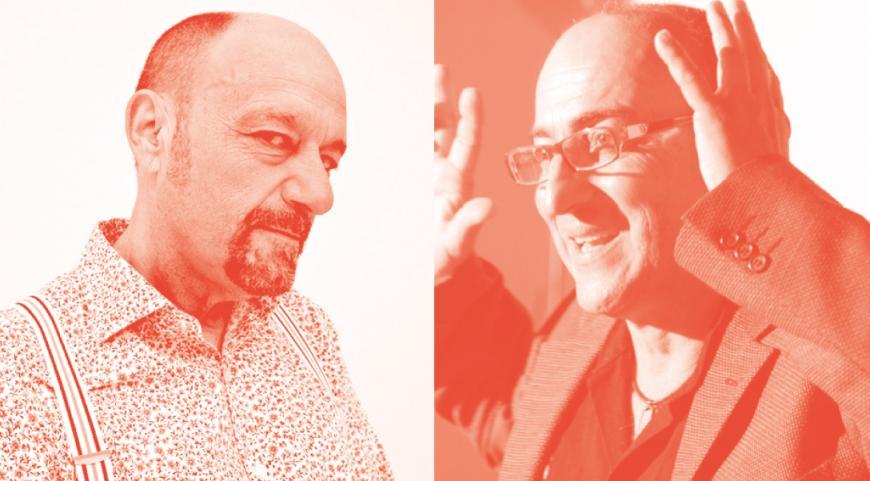 Javier Cansado y Ernesto Rodríguez cierran el ciclo de humor y arte 'Duólogos'