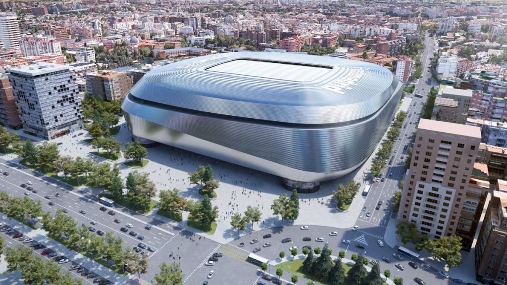 Así será y así se construirá el nuevo Santiago Bernabéu