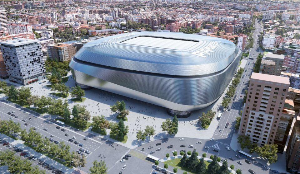 El Santiago Bernabéu podría servir como pabellón de baloncesto