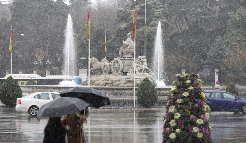 Vuelve el invierno a Madrid este fin de semana