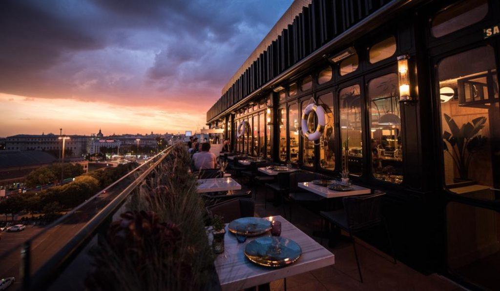 Sube al cielo de Madrid desde esta magnífica terraza