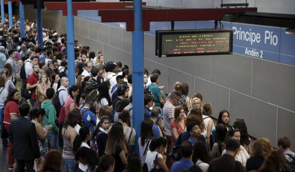Metro de Madrid se pone en huelga durante los próximos cuatro días