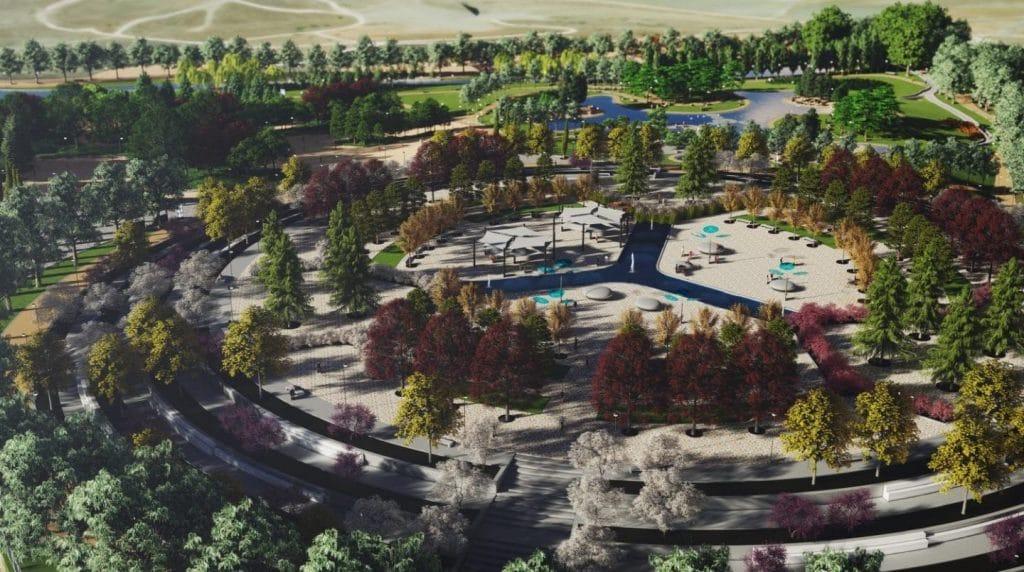 Así será el nuevo Parque de la Gavia