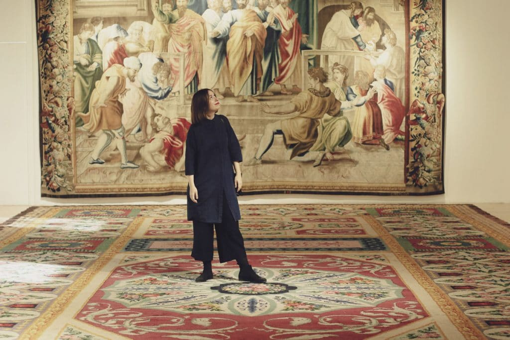 Descubriendo Menéndez Pelayo con la diseñadora textil María Ramírez