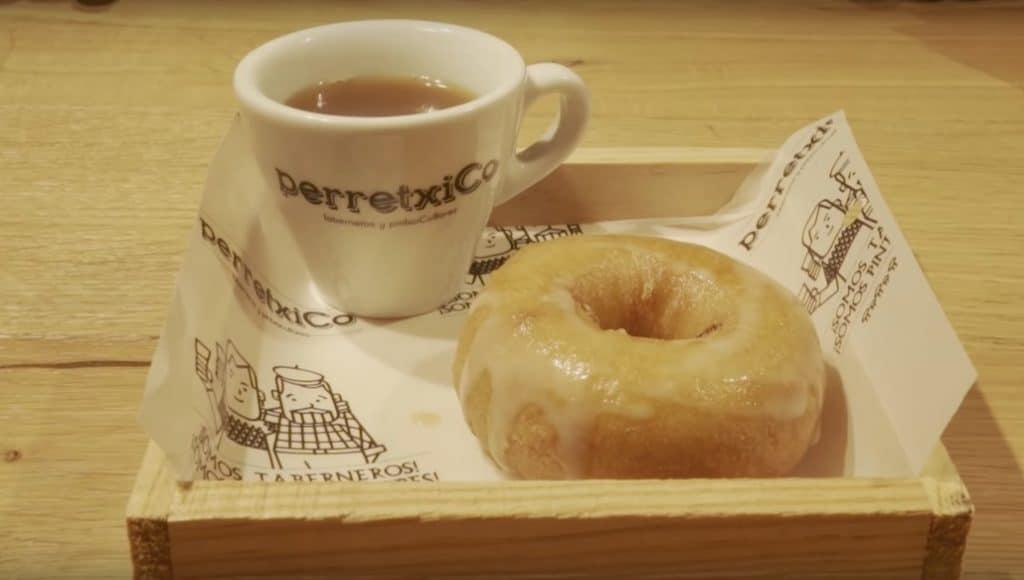 El donut de cocido existe y se puede comer en Madrid