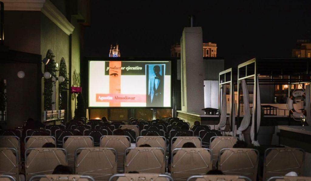Tenemos nuevo cine de verano al aire libre en una azotea de la Gran Vía