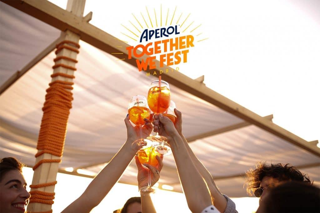 La fiesta del verano es Together We Fest de Aperol Spritz y viene con conciertazo de Delaporte
