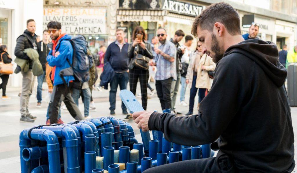 Moe el Tubero: «Madrid es la mejor ciudad para hacer música en la calle»