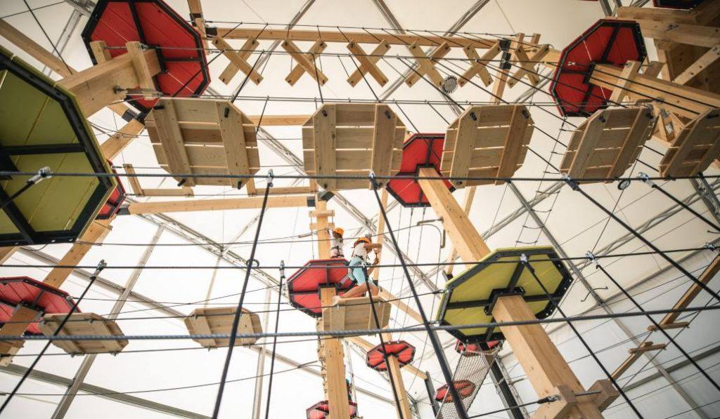 Vertical Park: un parque de aventuras gigantesco que está en Madrid