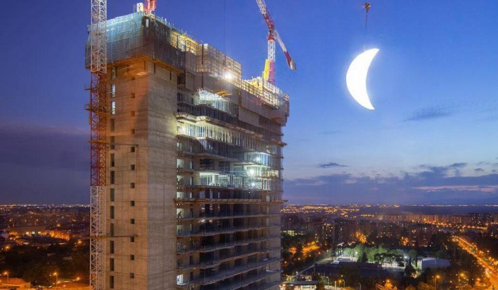 Madrid tendrá una segunda luna de nueve metros durante una noche